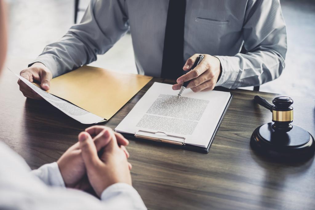 filing a law suit